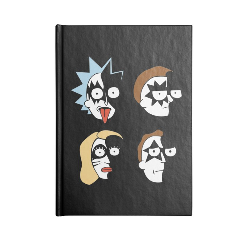 faces Accessories Lined Journal Notebook by damian's Artist Shop