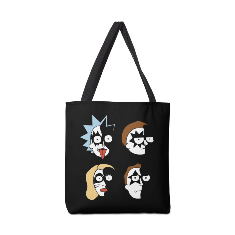 faces Accessories Tote Bag Bag by damian's Artist Shop