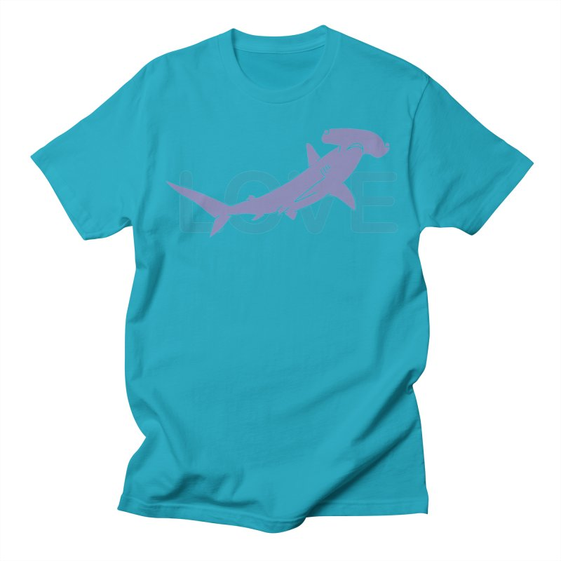 LOVE TIBURON Women's Regular Unisex T-Shirt by damian's Artist Shop