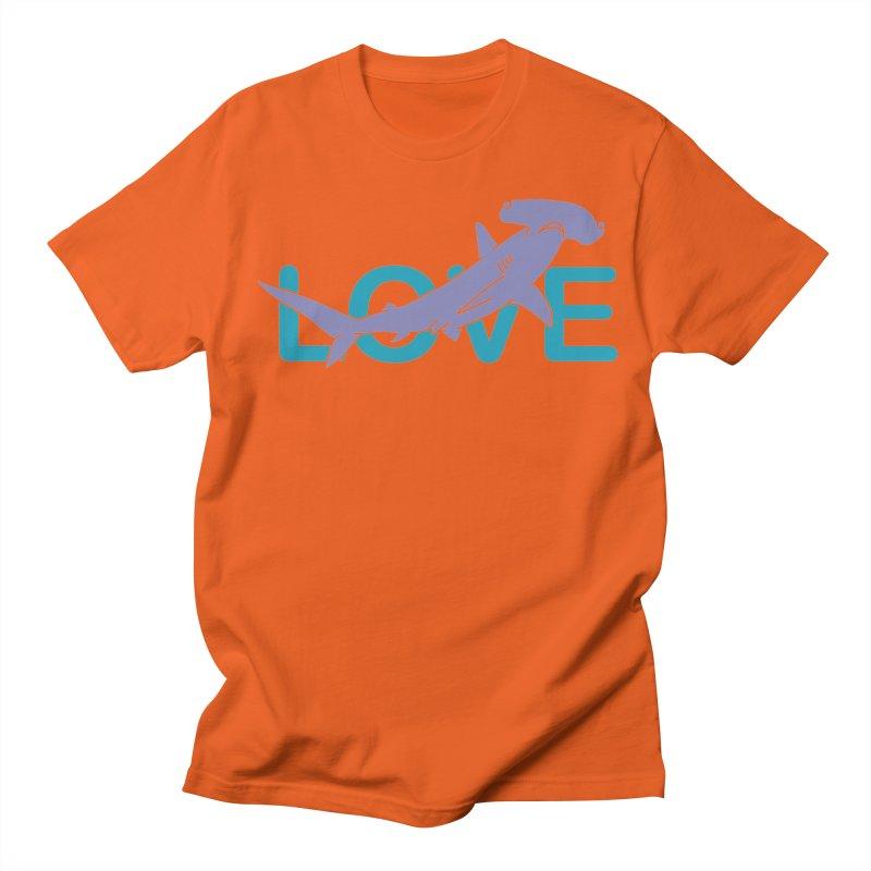 LOVE TIBURON Men's Regular T-Shirt by damian's Artist Shop