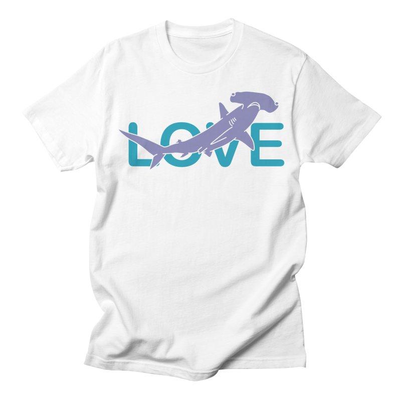 LOVE TIBURON Women's Regular Unisex T-Shirt by damian's Artist Shop