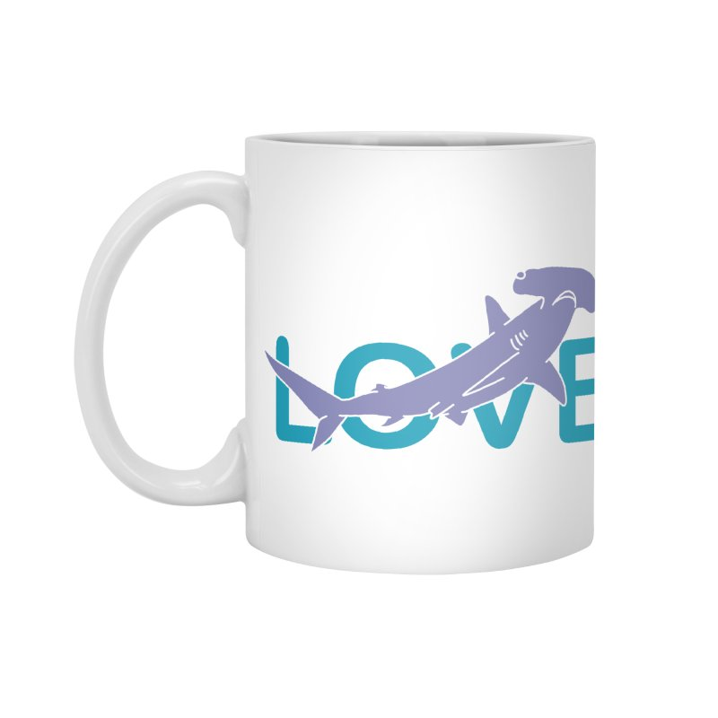 LOVE TIBURON Accessories Mug by damian's Artist Shop