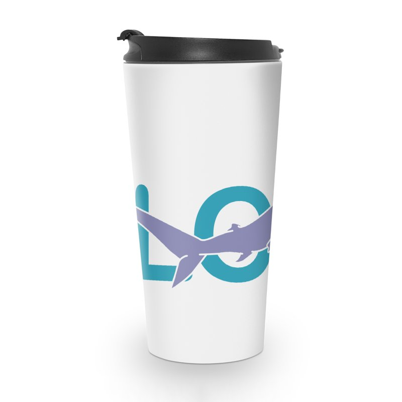 LOVE TIBURON Accessories Travel Mug by damian's Artist Shop