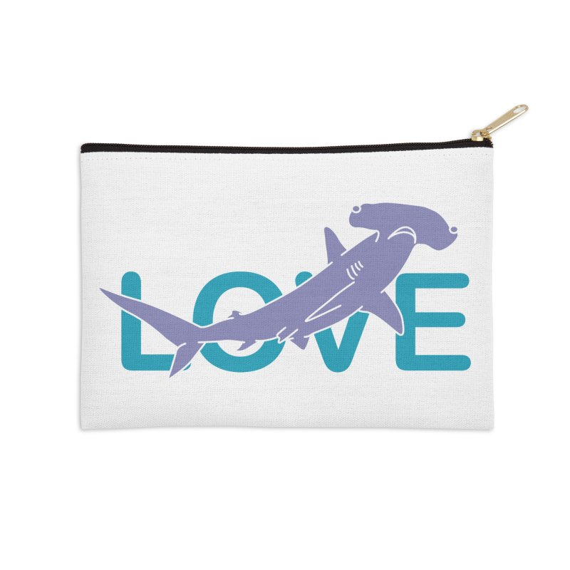 LOVE TIBURON Accessories Zip Pouch by damian's Artist Shop
