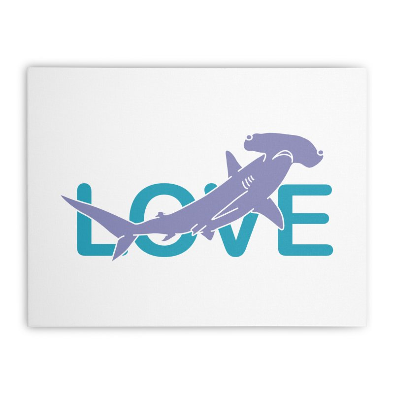 LOVE TIBURON Home Stretched Canvas by damian's Artist Shop