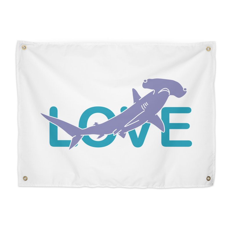 LOVE TIBURON Home Tapestry by damian's Artist Shop