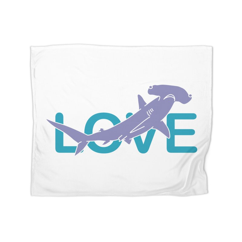 LOVE TIBURON Home Fleece Blanket Blanket by damian's Artist Shop