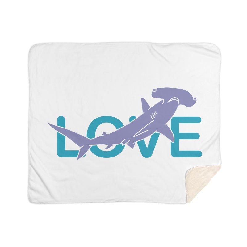 LOVE TIBURON Home Sherpa Blanket Blanket by damian's Artist Shop