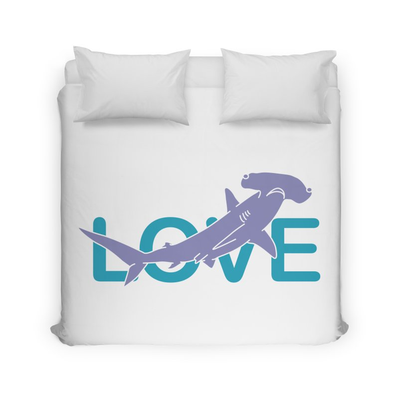 LOVE TIBURON Home Duvet by damian's Artist Shop