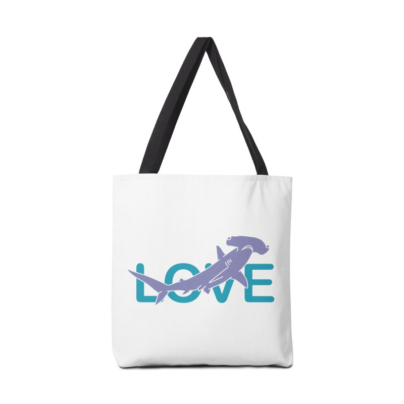 LOVE TIBURON Accessories Tote Bag Bag by damian's Artist Shop