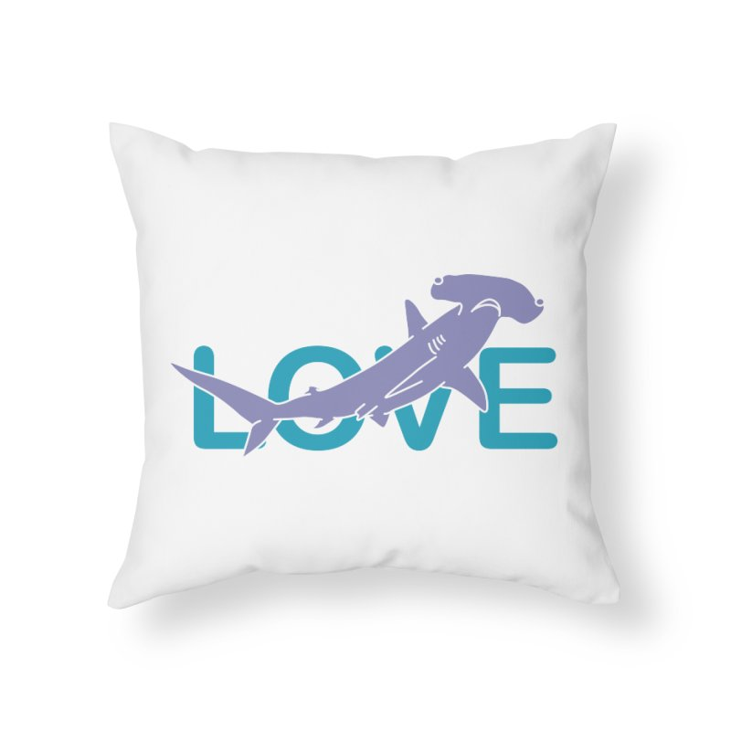 LOVE TIBURON Home Throw Pillow by damian's Artist Shop