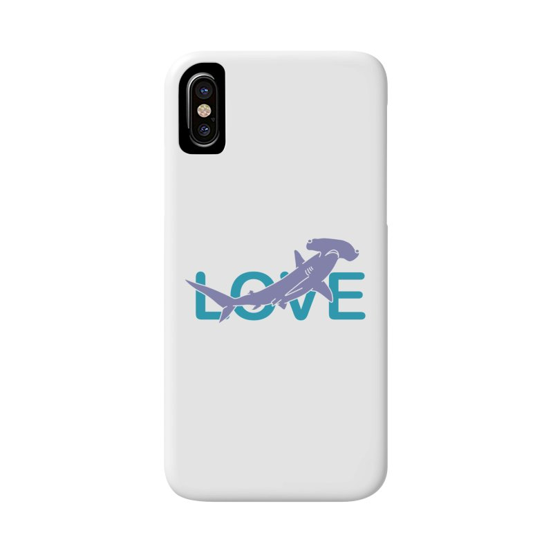 LOVE TIBURON Accessories Phone Case by damian's Artist Shop