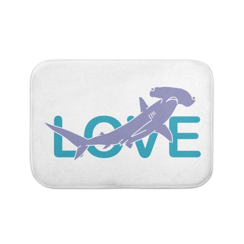 LOVE TIBURON Home Bath Mat by damian's Artist Shop