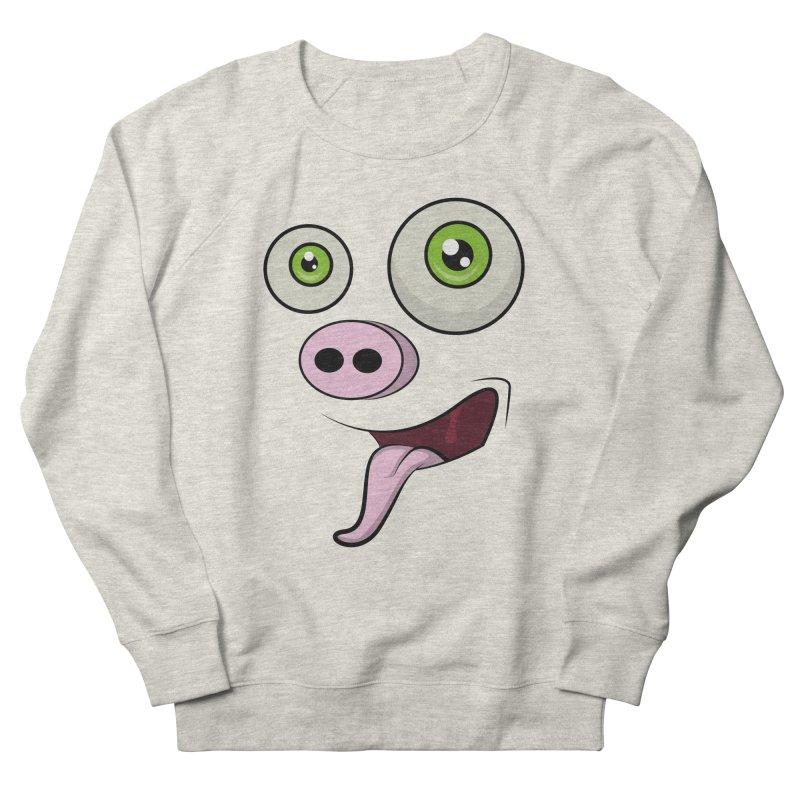 cerdo face Women's Sweatshirt by damian's Artist Shop
