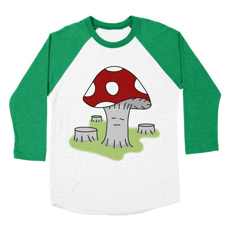 hongos arbol Men's Baseball Triblend T-Shirt by damian's Artist Shop