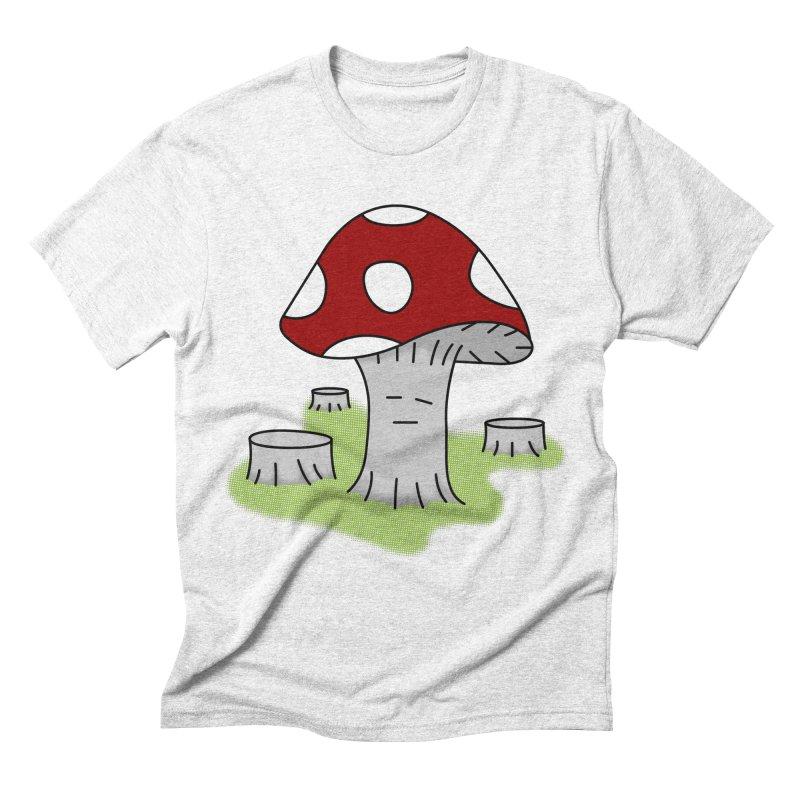 hongos arbol Men's Triblend T-shirt by damian's Artist Shop