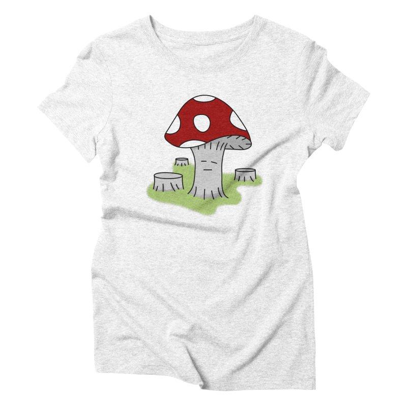 hongos arbol Women's Triblend T-shirt by damian's Artist Shop
