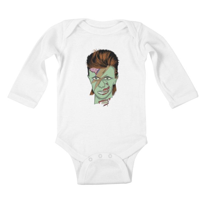 historia   Kids Baby Longsleeve Bodysuit by damian's Artist Shop