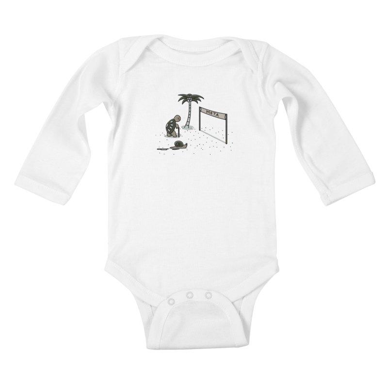 La Gran Carrera Kids Baby Longsleeve Bodysuit by damian's Artist Shop