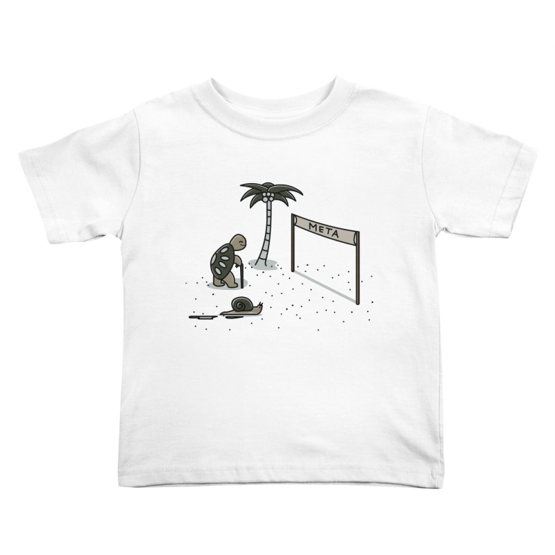 La Gran Carrera Kids Toddler T-Shirt by damian's Artist Shop