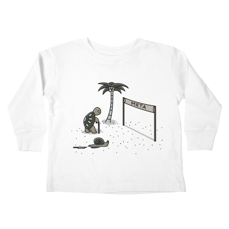 La Gran Carrera Kids Toddler Longsleeve T-Shirt by damian's Artist Shop
