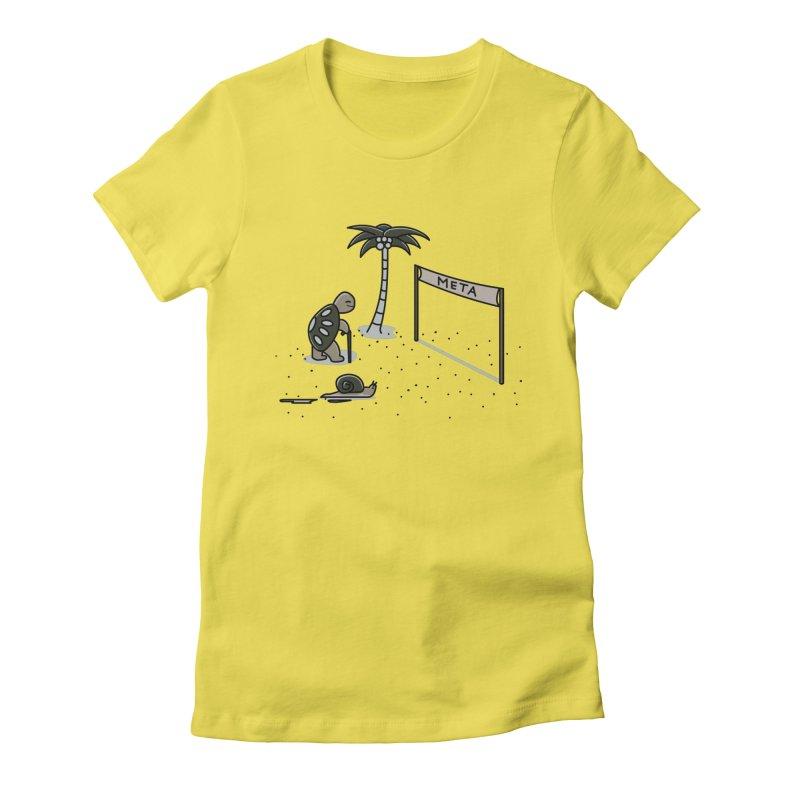 La Gran Carrera Women's Fitted T-Shirt by damian's Artist Shop