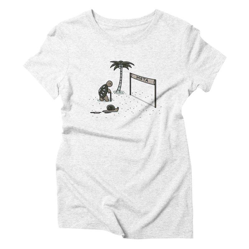 La Gran Carrera Women's Triblend T-shirt by damian's Artist Shop