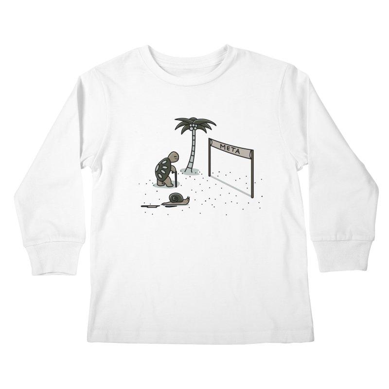 La Gran Carrera Kids Longsleeve T-Shirt by damian's Artist Shop