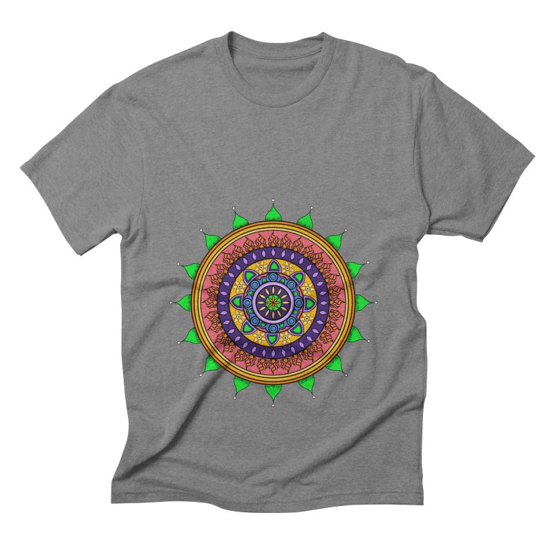 YouStyleGuate1 Men's Triblend T-shirt by damian's Artist Shop