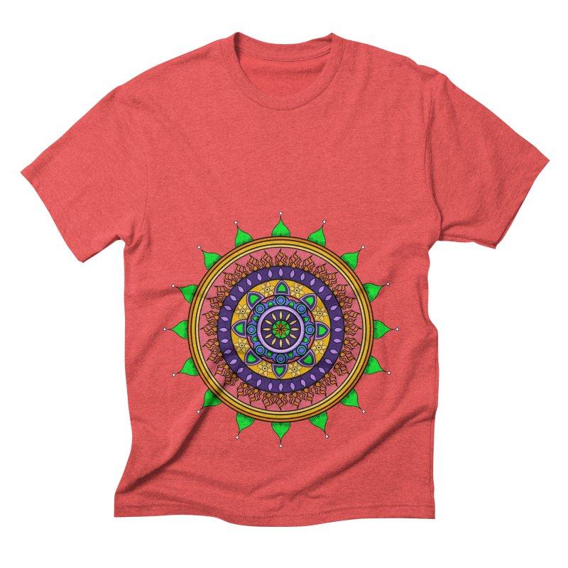YouStyleGuate1 Men's Triblend T-shirt by damian's Artist Shop