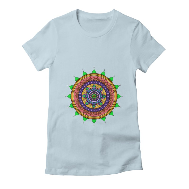 YouStyleGuate1 Women's Fitted T-Shirt by damian's Artist Shop