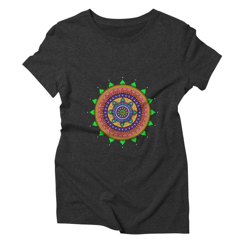 YouStyleGuate1 Women's Triblend T-shirt by damian's Artist Shop