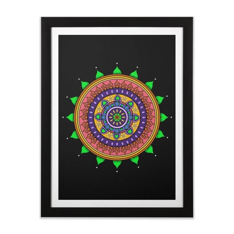 YouStyleGuate1 Home Framed Fine Art Print by damian's Artist Shop