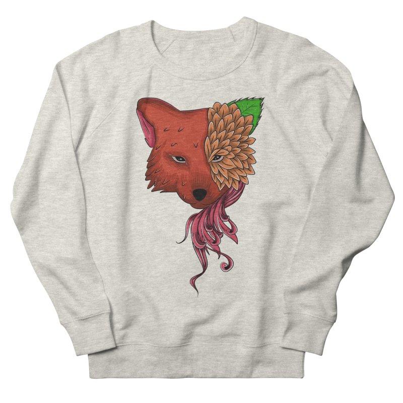 Fox flower Women's Sweatshirt by damian's Artist Shop