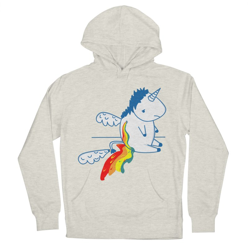 UNICORNIO  ARCOIRIS Men's Pullover Hoody by damian's Artist Shop