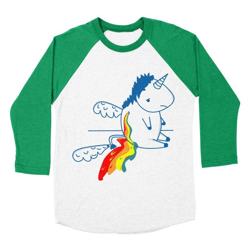 UNICORNIO  ARCOIRIS Women's Baseball Triblend T-Shirt by damian's Artist Shop