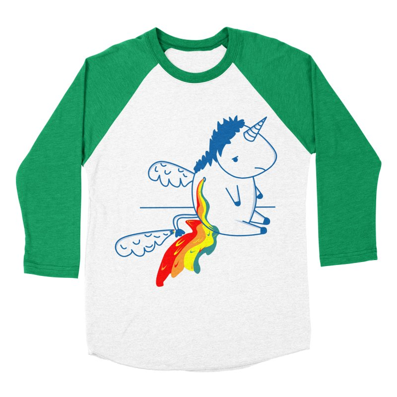 UNICORNIO  ARCOIRIS Men's Baseball Triblend T-Shirt by damian's Artist Shop