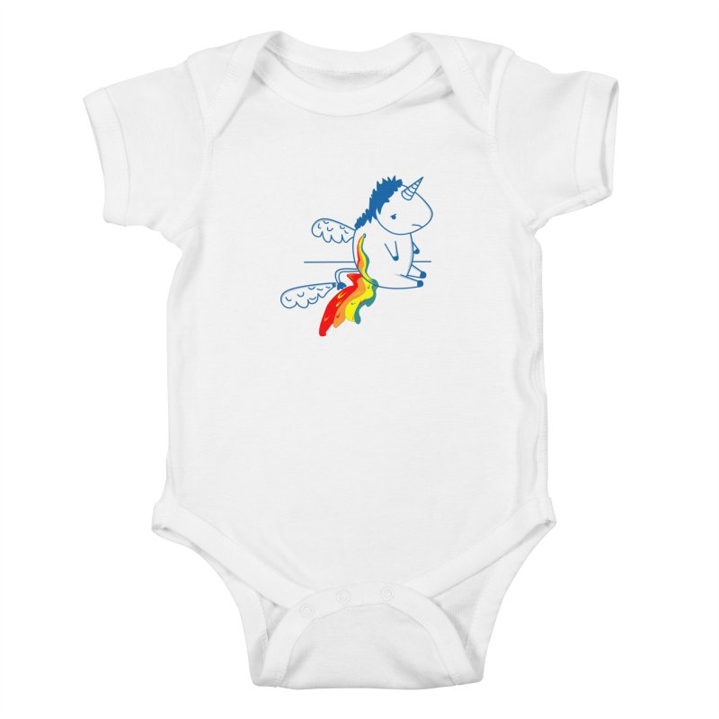 UNICORNIO  ARCOIRIS Kids Baby Bodysuit by damian's Artist Shop