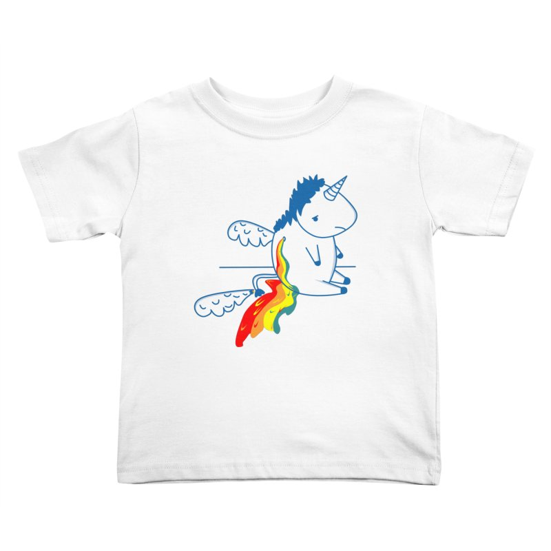 UNICORNIO  ARCOIRIS Kids Toddler T-Shirt by damian's Artist Shop