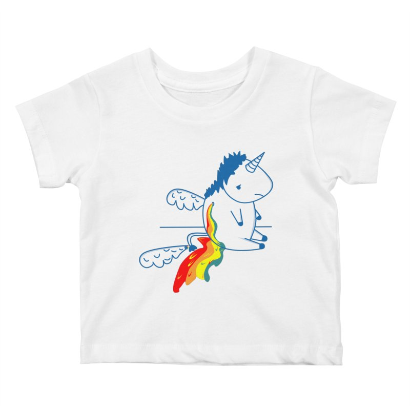 UNICORNIO  ARCOIRIS Kids Baby T-Shirt by damian's Artist Shop