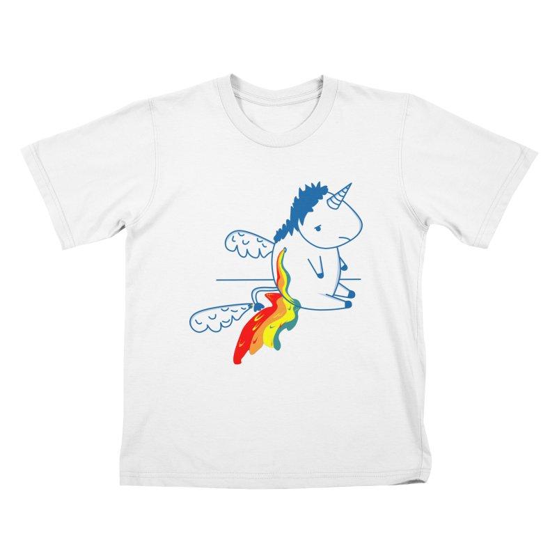 UNICORNIO  ARCOIRIS Kids T-shirt by damian's Artist Shop