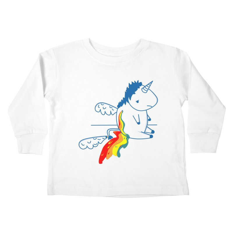 UNICORNIO  ARCOIRIS Kids Toddler Longsleeve T-Shirt by damian's Artist Shop