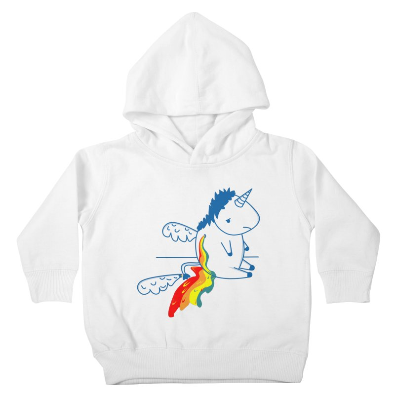 UNICORNIO  ARCOIRIS Kids Toddler Pullover Hoody by damian's Artist Shop