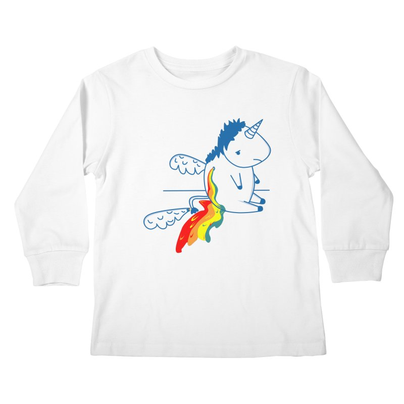 UNICORNIO  ARCOIRIS Kids Longsleeve T-Shirt by damian's Artist Shop