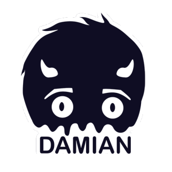 damian's Artist Shop Logo