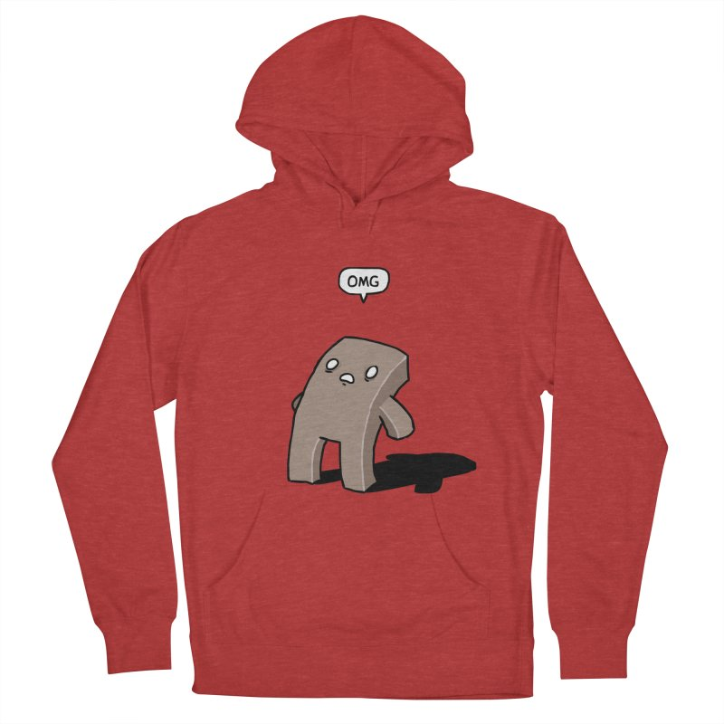 Oh The Humanity Women's French Terry Pullover Hoody by Damien Mason's Artist Shop