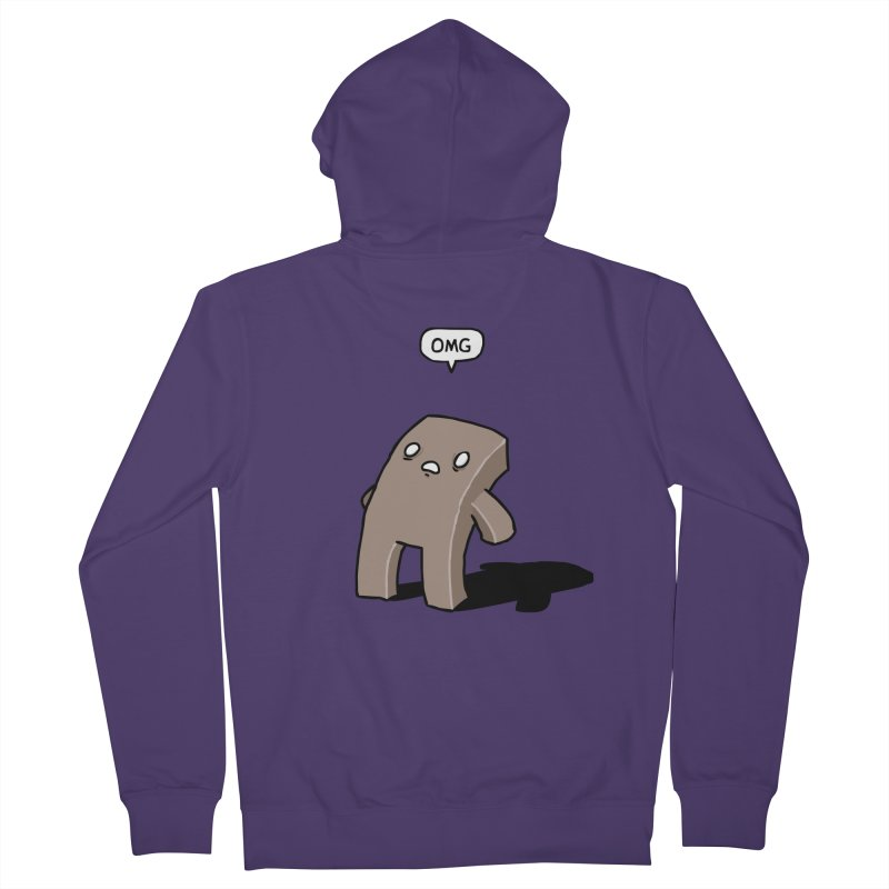 Oh The Humanity Women's Zip-Up Hoody by Damien Mason's Artist Shop