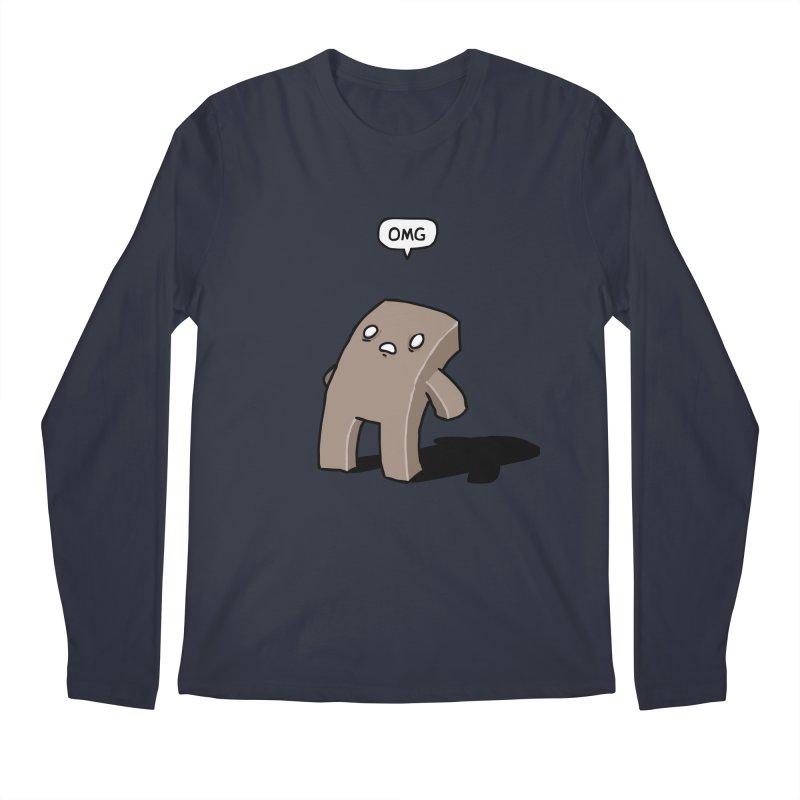 Oh The Humanity Men's Longsleeve T-Shirt by Damien Mason's Artist Shop