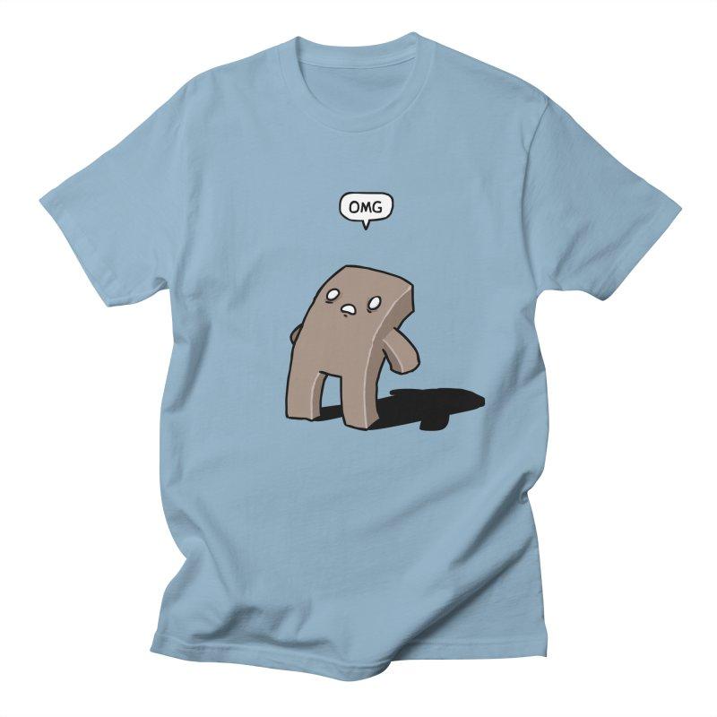 Oh The Humanity Men's Regular T-Shirt by Damien Mason's Artist Shop