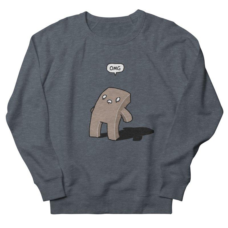 Oh The Humanity Men's Sweatshirt by Damien Mason's Artist Shop